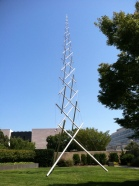 Kenneth Snelson at the Hirshorn