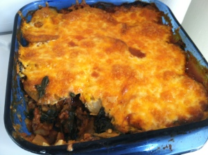Spinach Potato Casserole